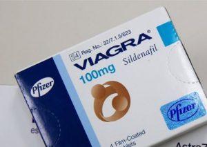 Sildenafil, sold as Viagra.