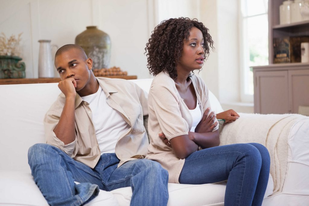 couple have emotional problems