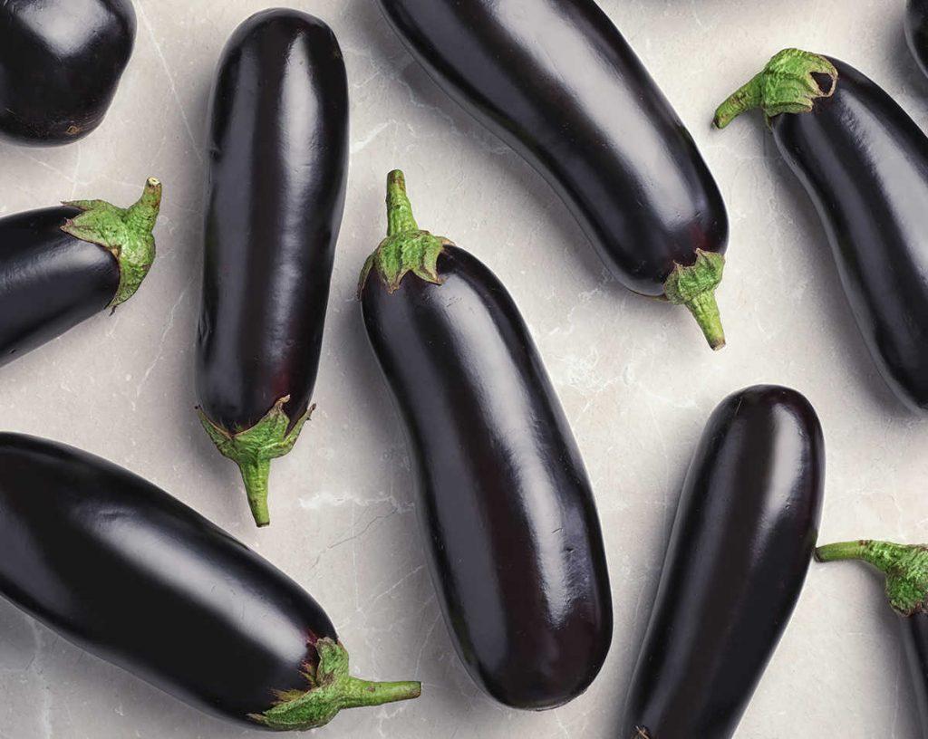 eggplants as penis emoji